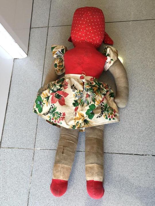 Muñecas Lesly y Barriguitas: Muñeca Antigua. Mide 48cm, CELULOIDE TRAPO - Foto 4 - 56331920