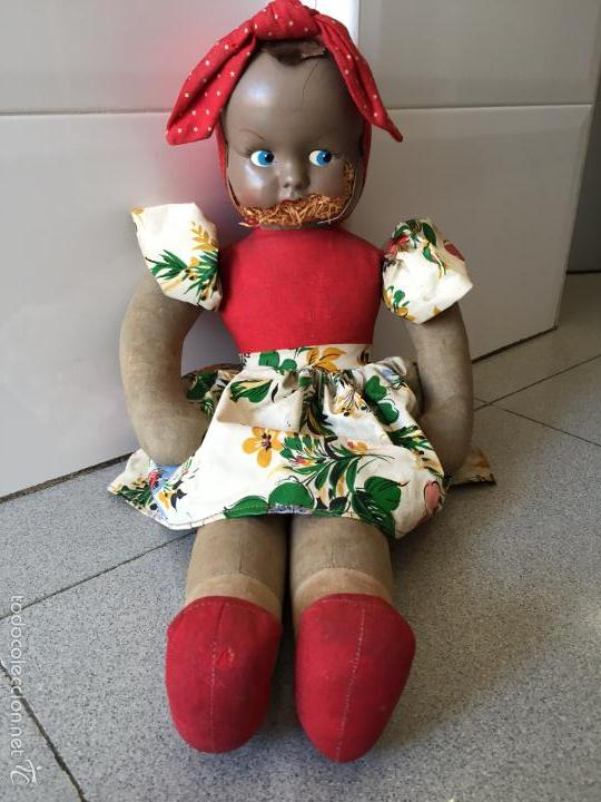 Muñecas Lesly y Barriguitas: Muñeca Antigua. Mide 48cm, CELULOIDE TRAPO - Foto 6 - 56331920