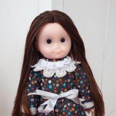 Muñecas Lesly y Barriguitas: ANTIGUA MUÑECA DE MELENA MORENA LARGUISIMA. Lote 57344479