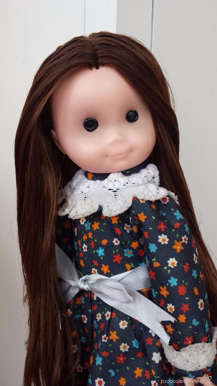Muñecas Lesly y Barriguitas: ANTIGUA MUÑECA DE MELENA MORENA LARGUISIMA - Foto 2 - 57344479