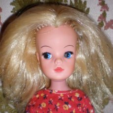 Muñecas Lesly y Barriguitas: MUÑECA SINDY DE PEDIGREE DE LOS AÑOS 70 SUPER MELENA. Lote 58520923