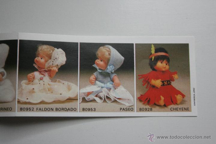 Muñecas Lesly y Barriguitas: LIQUIDACION vestido traje barriguitas famosa años 70 modelo 80952 faldon bordado - Foto 3 - 89879500