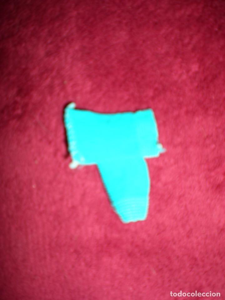 Muñecas Lesly y Barriguitas: antiguos calcetines o medias pequeños azules para barriguitas ALINA y mini nenucos nuevos sin uso - Foto 3 - 91022530