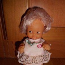 Muñecas Lesly y Barriguitas: BARRIGUITAS PELO ROSA CON BLUSA LAZO DE FAMOSA AÑOS 70 B.E.. Lote 63700123