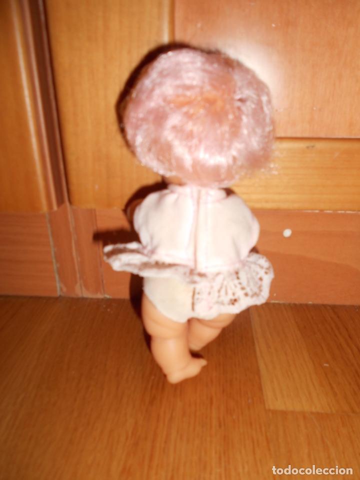 Muñecas Lesly y Barriguitas: BARRIGUITAS PELO ROSA CON BLUSA LAZO DE FAMOSA AÑOS 70 B.E. - Foto 2 - 63700123