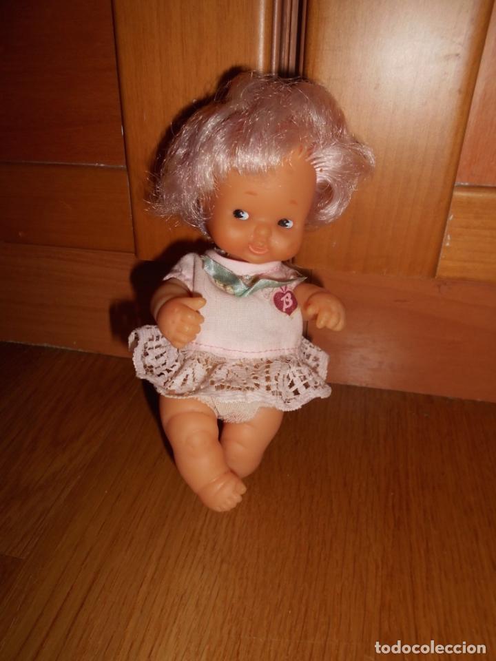 Muñecas Lesly y Barriguitas: BARRIGUITAS PELO ROSA CON BLUSA LAZO DE FAMOSA AÑOS 70 B.E. - Foto 3 - 63700123