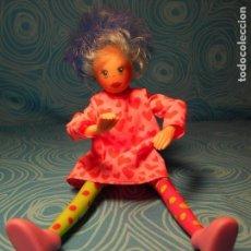 Muñecas Lesly y Barriguitas: MUÑECA AGATHA DE FAMOSA. Lote 66493062
