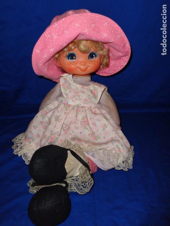 Muñecas Lesly y Barriguitas: FAMOSA - ANTIGUA MUÑECA POLIANA DE FAMOSA VESTIDA DE ORIGEN, VER FOTOS Y DESCRIPCION!!! SBB - Foto 2 - 71684903