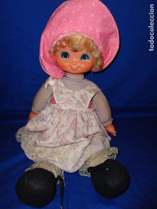 Muñecas Lesly y Barriguitas: FAMOSA - ANTIGUA MUÑECA POLIANA DE FAMOSA VESTIDA DE ORIGEN, VER FOTOS Y DESCRIPCION!!! SBB - Foto 4 - 71684903