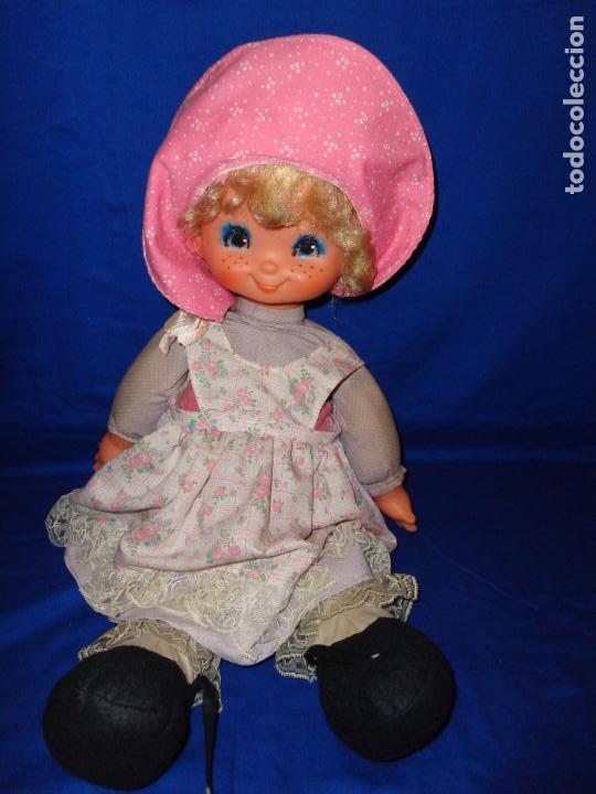 Muñecas Lesly y Barriguitas: FAMOSA - ANTIGUA MUÑECA POLIANA DE FAMOSA VESTIDA DE ORIGEN, VER FOTOS Y DESCRIPCION!!! SBB - Foto 5 - 71684903