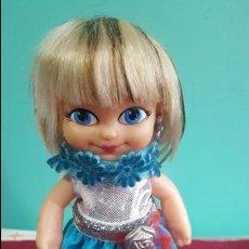 Muñecas Lesly y Barriguitas: MUÑECA BARRIGUITAS VESTIDO AZUL . Lote 72157927