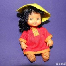 Muñecas Lesly y Barriguitas: MUÑECA BARRIGUITAS DEL MUNDO CHINA DE FAMOSA. Lote 73210571