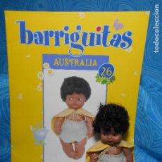 Muñecas Lesly y Barriguitas: BARRIGUITAS AUSTRALIA MUÑECA Y FASCICULO (REF 3). Lote 74542795