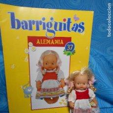 Muñecas Lesly y Barriguitas: BARRIGUITAS ALEMANIA MUÑECA Y FASCICULO (REF 3). Lote 74591823