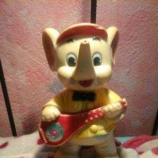Muñecas Lesly y Barriguitas: ANTIGUO ELEFANTE DE GOMA DE FAMOSA. Lote 137447717