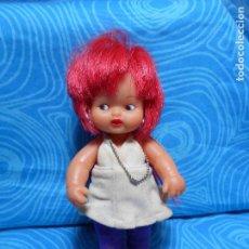 Muñecas Lesly y Barriguitas: MUÑECA BARRIGUITAS PELO ROSA EN SU NUCA MARCA 97. Lote 77867481