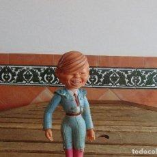 Muñecas Lesly y Barriguitas: MUÑECO EN GOMA FIGURA DE TORERO MANUEL BENITEZ EL CORDOBES FABRICADO POR FAMOSA. Lote 149023952