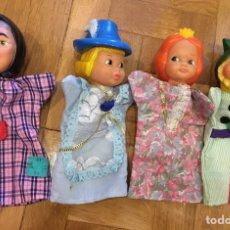 Muñecas Lesly y Barriguitas: MARIONETAS FAMOSA. Lote 80095313