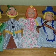 Muñecas Lesly y Barriguitas: CINCO MARIONETAS DE FAMOSA. Lote 81208792