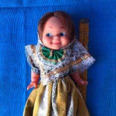 Muñecas Lesly y Barriguitas: PRECIOSA MUÑECA REGIONAL DE FLORIDO ? AÑOS 70. Lote 81889556