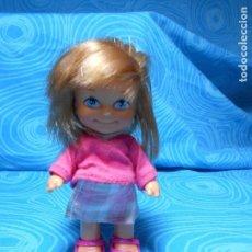 Muñecas Lesly y Barriguitas: MUÑECA MINI BARRIGUITAS NEW NIÑA MIDE UNOS 10 CM. Lote 82829844