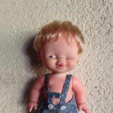 Muñecas Lesly y Barriguitas: MUÑECO TUNANTE DE FAMOSA. Lote 82981116