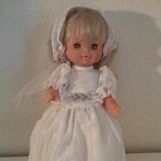 Muñecas Lesly y Barriguitas: MUÑECA HELEN FAMOSA COMUNION DOLL POUPPE. Lote 83843536