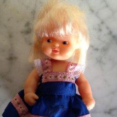 Muñecas Lesly y Barriguitas: MUÑECA BARRIGUITAS HOLANDESA COMO NUEVA CON ROPA DE ORIGEN. Lote 85096332