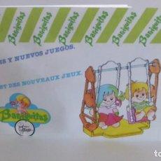 Muñecas Lesly y Barriguitas: CATÁLOGO GRANDE Y NUEVO DE BARRIGUITAS. Lote 171042975