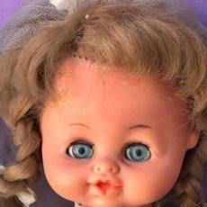 Muñecas Lesly y Barriguitas: DIFICIL MUÑECA EVELIN? DE FAMOSA VESTIDA COMUNION. Lote 86668716