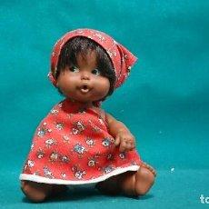 Muñecas Lesly y Barriguitas: ANTIGUA BARRIGUITAS CON TRAJE CAFETAL. Lote 88299700