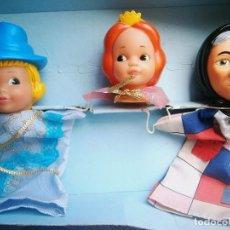 Muñecas Lesly y Barriguitas: MUÑECOS DE GUIÑOL FAMOSA. AÑOS 80.. Lote 89546616
