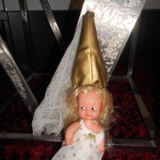 Muñecas Lesly y Barriguitas: FAMOSA MUÑECA BARRIGUITAS HADA AÑOS 70/80. Lote 90475844