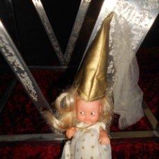 Muñecas Lesly y Barriguitas: FAMOSA MUÑECA BARRIGUITAS HADA AÑOS 70/80 BUEN ESTADO. Lote 90476049