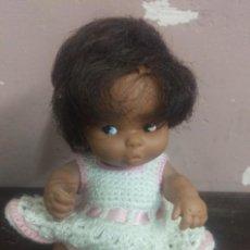 Muñecas Lesly y Barriguitas: BARRIGUITAS MULATA ORIGINAL FAMOSA MADE IN SPAIN. Lote 90737785