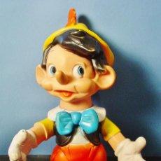 Muñecas Lesly y Barriguitas: PINOCHO DE GOMA DE FAMOSA. AÑOS 70. 36 CM ALTURA. ARTICULADO. . Lote 91706905