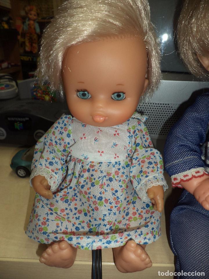 Muñecas Lesly y Barriguitas: Lote 3 antiguas muñecas de Famosa .Made in Spain. - Foto 4 - 92059305