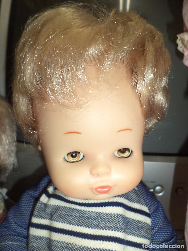Muñecas Lesly y Barriguitas: Lote 3 antiguas muñecas de Famosa .Made in Spain. - Foto 6 - 92059305