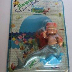 Muñecas Lesly y Barriguitas: BARRIGUITAS SIRENITA PELIROJA EN BLISTER. CC. Lote 93642920