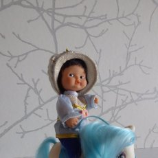 Muñecas Lesly y Barriguitas: BARRIGUITAS PRÍNCIPE AZUL CON SU CABALLITO. Lote 94208380