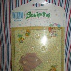 Muñecas Lesly y Barriguitas: BLISTER ORIGINAL VESTIDO BARRIGUITAS , A ESTRENAR. Lote 94909763