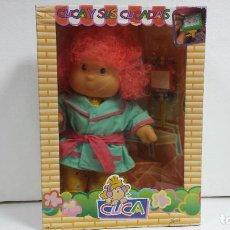Muñecas Lesly y Barriguitas: MUÑECA CUCA DE FAMOSA 1992-40CM APROX. Lote 94915891