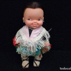 Muñecas Lesly y Barriguitas: MUÑECA FAMOSA RISITAS CON TRAJE REGIONAL. Lote 95017675