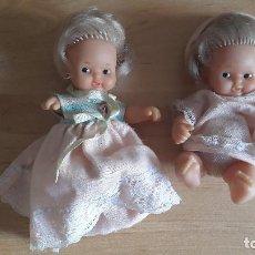 Muñecas Lesly y Barriguitas: LOTE 2 MUÑECAS BARRIGUITAS FAMOSA - VER FOTOS ADICIONALES. Lote 95762095