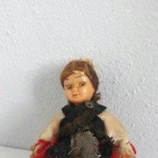 Muñecas Lesly y Barriguitas: MUÑECA ANTIGUA REGIONAL OJOS DURMIENTES. Lote 96993299