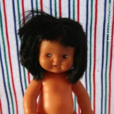 Muñecas Lesly y Barriguitas: BARRIGUITAS DESNUDA MORENA MEDIA MELENA. Lote 97509263