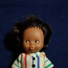 Muñecas Lesly y Barriguitas: BARRIGUITAS MORITO DE FAMOSA ORIGINAL. Lote 98129131