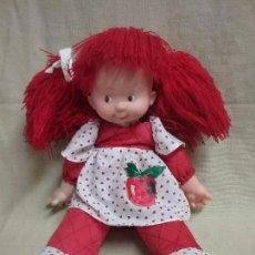 Muñecas Lesly y Barriguitas: ANTIGUA MUÑECA CORAZÓN MANZANA DE BB . Lote 98967671