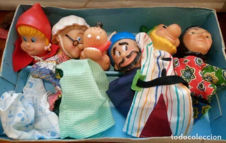 Muñecos del guiñol. de famosa. años 80  90 - Vendido en Venta ... facf5fde695
