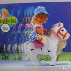 Muñecas Lesly y Barriguitas: LIBRITO CATÁLOGO DE BARRIGUITAS - 10 HOJAS. Lote 171043283